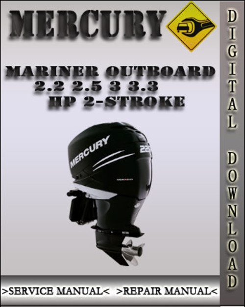 mercury 2.5 hp 4 stroke manual
