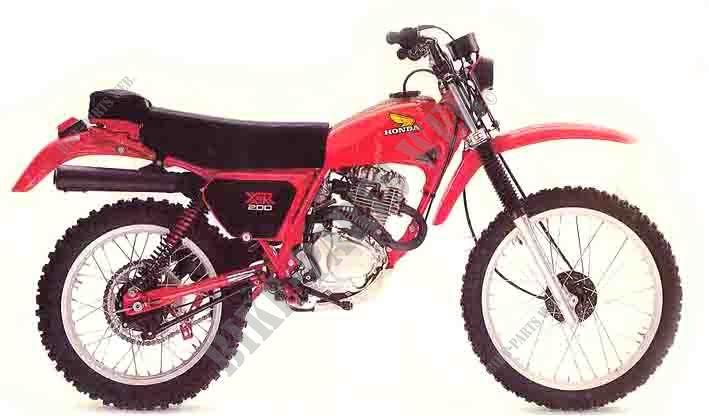 1980 200 xr honda manual