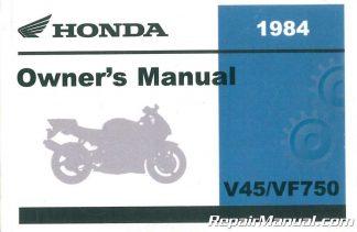 1984 honda v45 magna manual