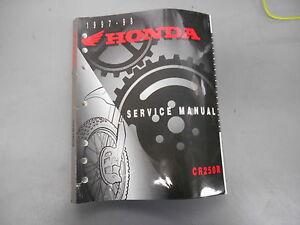 1994 honda cr250r repair manual
