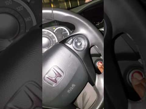2013 honda accord manual start