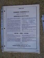 1959 evinrude 5.5 hp fisherman manual