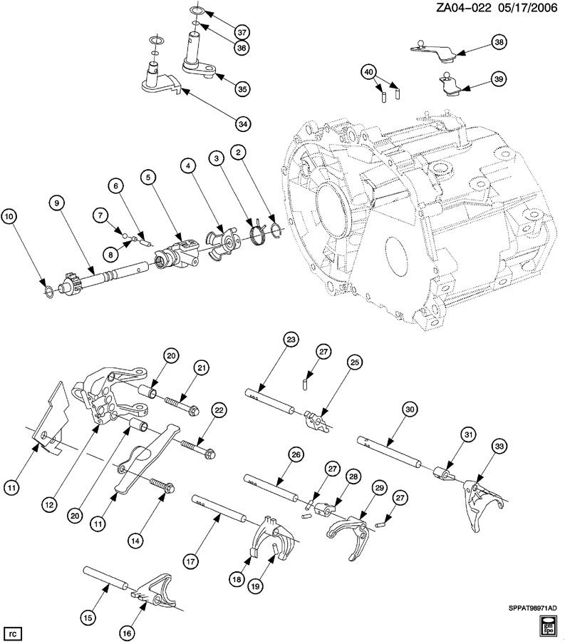 2005 saturn ion parts manual