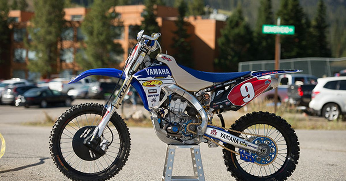 parts that come with yz450f manual