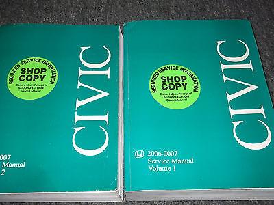 2009 honda civic x service manual