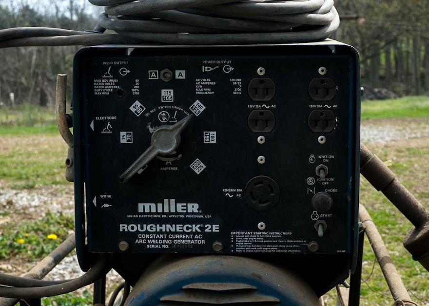 miller roughneck 2e parts manual