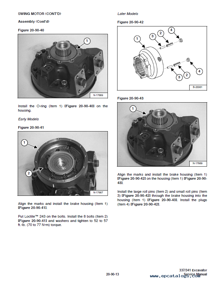 www.bennche parts and accessories.com pdf manuals