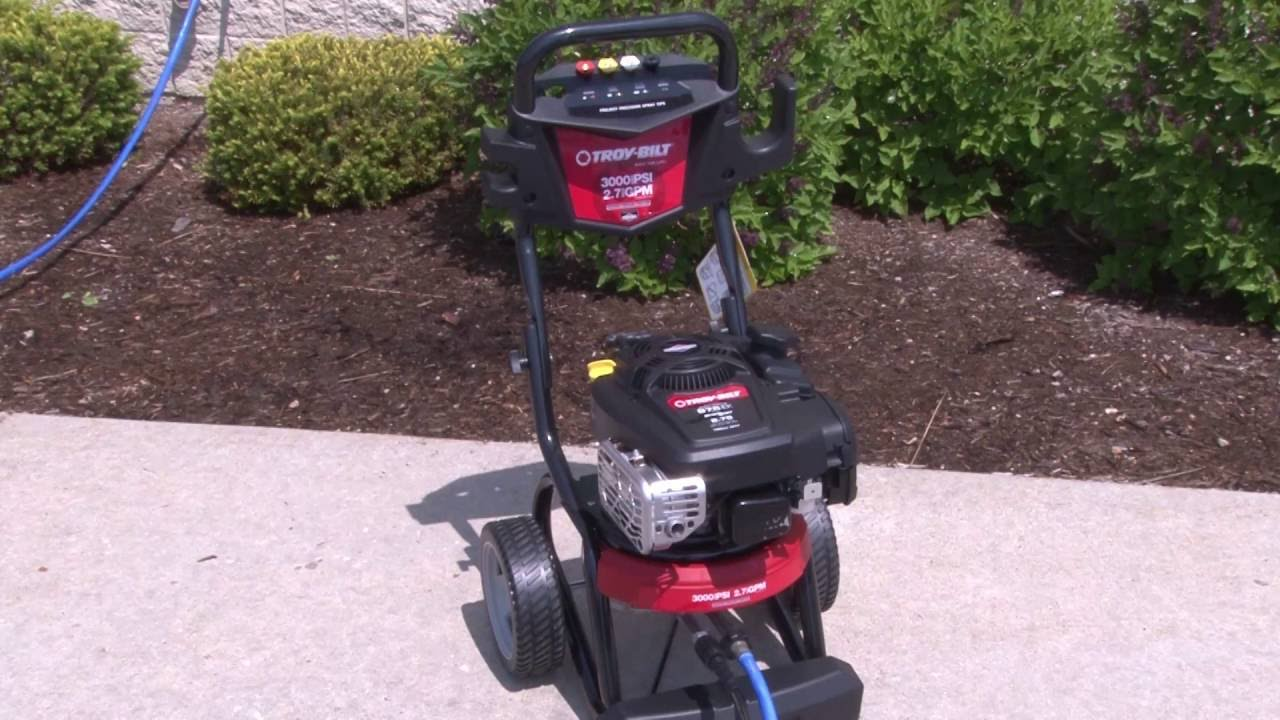 owners manual for troybuilt xp power washer with honda engine