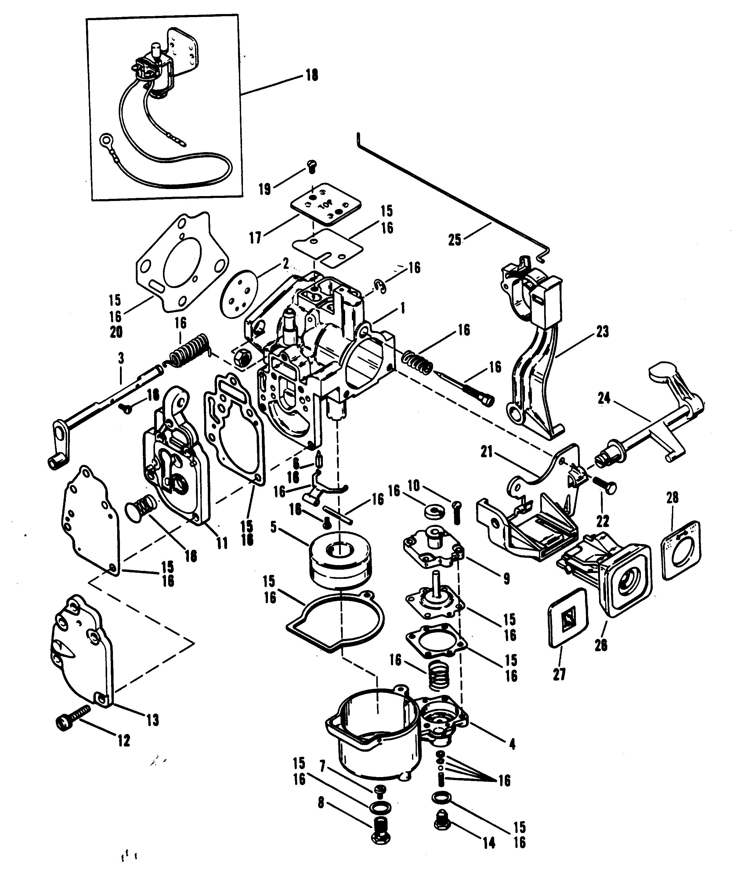1989 mercury 15 hp outboard parts manual