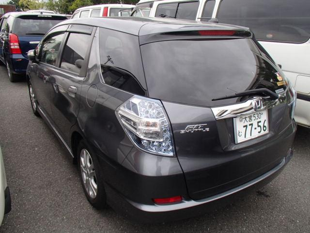 honda fit shuttle hybrid manual