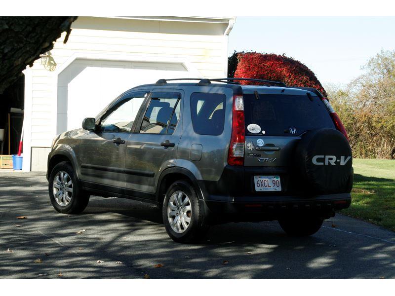 2005 honda crv manual transmission for sale