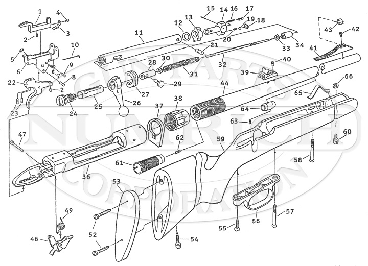 stevens model 320 parts manual
