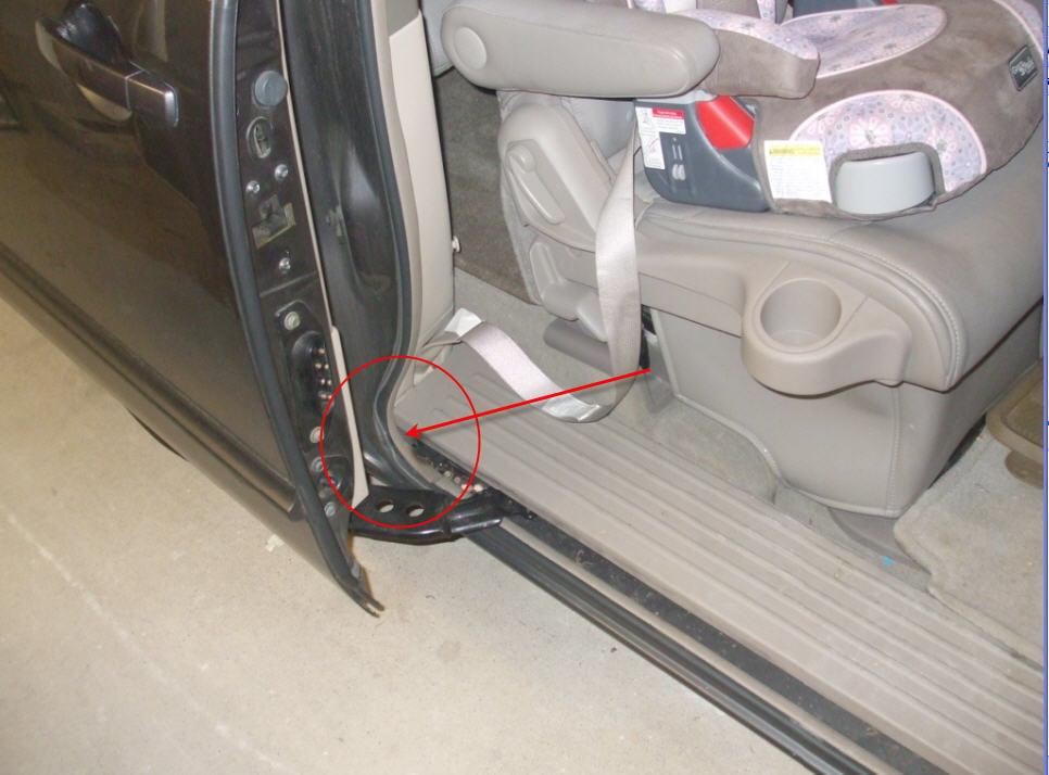 2012 honda odyssey manual sliding door won& 39