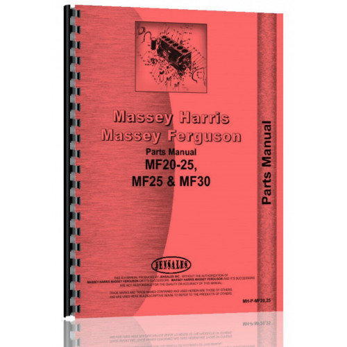 massey ferguson 25 parts manual