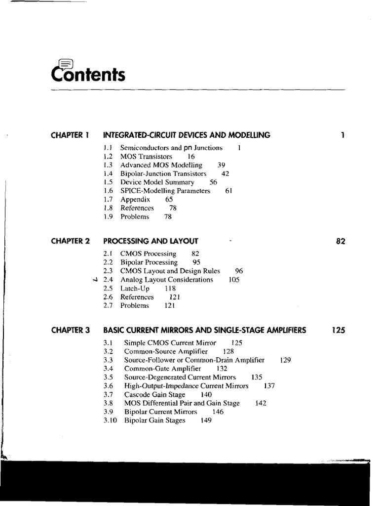 analog integrated circuit design johns martin solution manual pdf