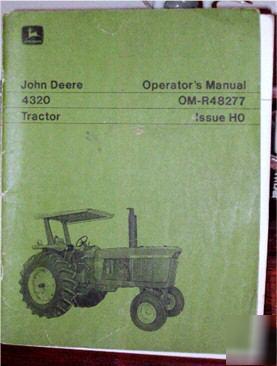 john deere 4320 parts manual