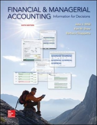 financial and managerial accounting 13e solutions manual