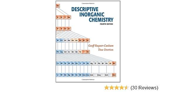descriptive inorganic chemistry 3rd edition solutions manual