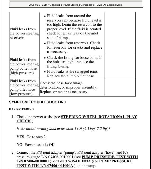 2007 honda civic body repair manual