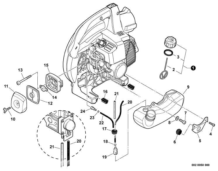 echo pb 250 parts manual