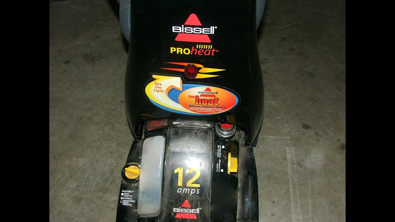 bissell proheat complete pet parte manual