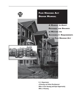 fair housing act design manual part two