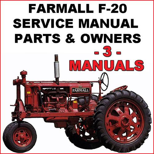 farmall a parts manual pdf