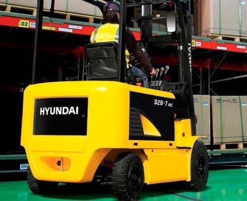 hyundai forklift truck parts manual