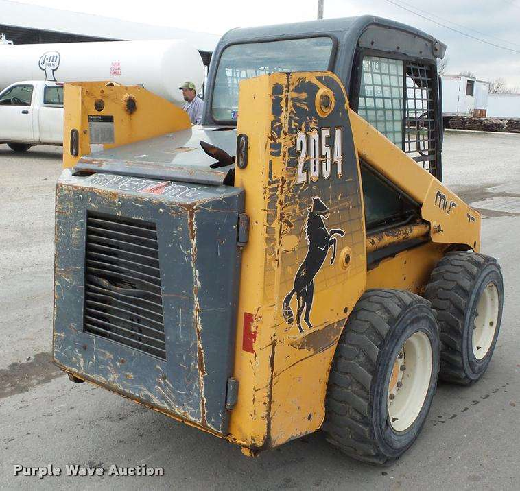 mustang skid steer 2054 parts manual