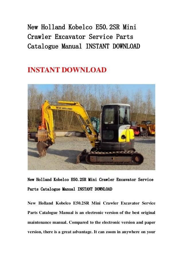 parts manual for kobelco k907 c