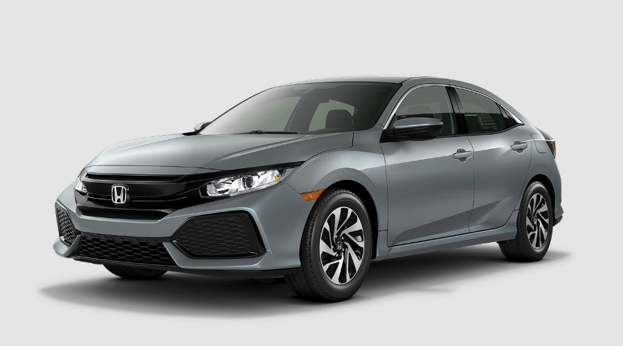 steel grey honda civic sedan manual transmission