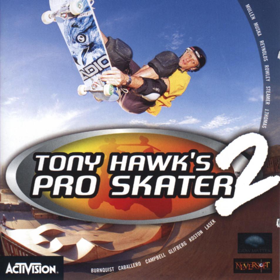 tony hawk pro skater 2 nintendo 64 manual